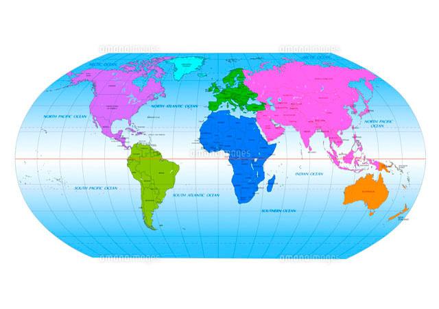 世界地図 国名入り[10141000300 ... : 世界地図 国名入り : 世界地図