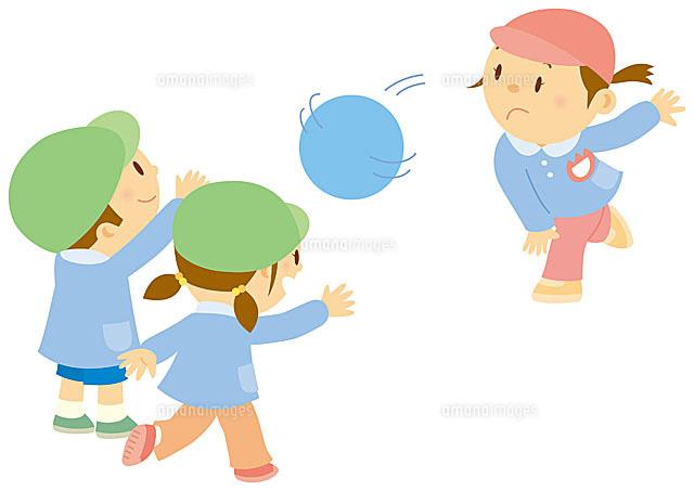 ドッジボールをする子ども達[11002054981]の写真素材・イラスト ...